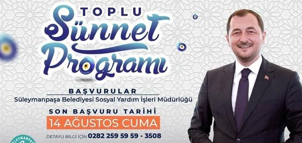 TOPLU SÜNNET BU SENE ŞÖLENSİZ