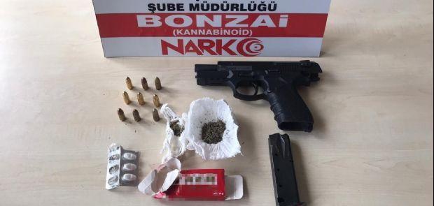 POLİSİ UYUŞTURUCUYA GEÇİT VERMİYOR
