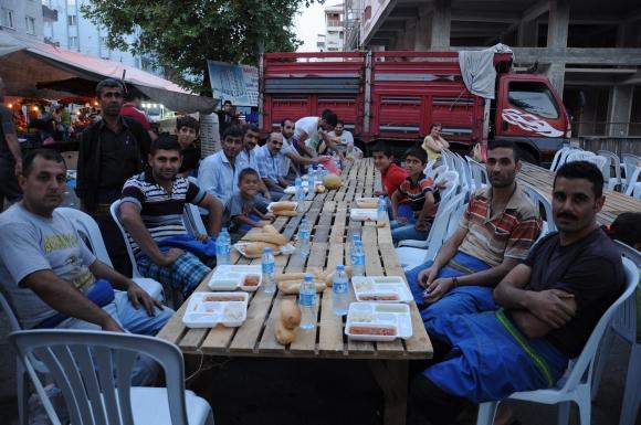 Çorlu Sayyar Esnaf ve Pazarcılar Odası İftar Yemeği