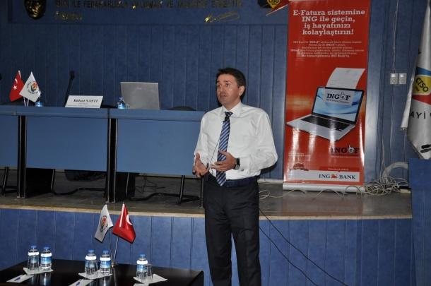 ING BANK'TAN e-fatura konferansı