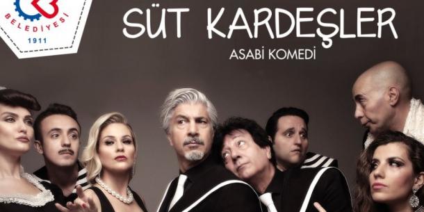 'SÜT KARDEŞLER' ÇERKEZKÖY'E GELİYOR