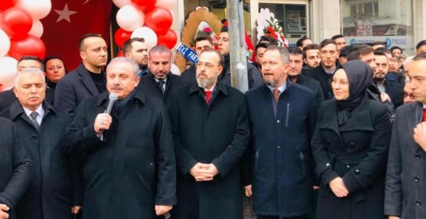 MUSTAFA ŞENTOP ŞARKÖY'DE