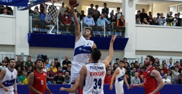 Türkiye Basketbol 2. Ligi: ÇORLU BELEDİYESİ: 79-73 UPS